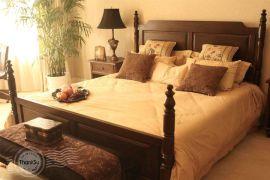 大自然纯实木双人床 1.8米