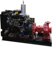 IS单级单吸柴油机消防泵