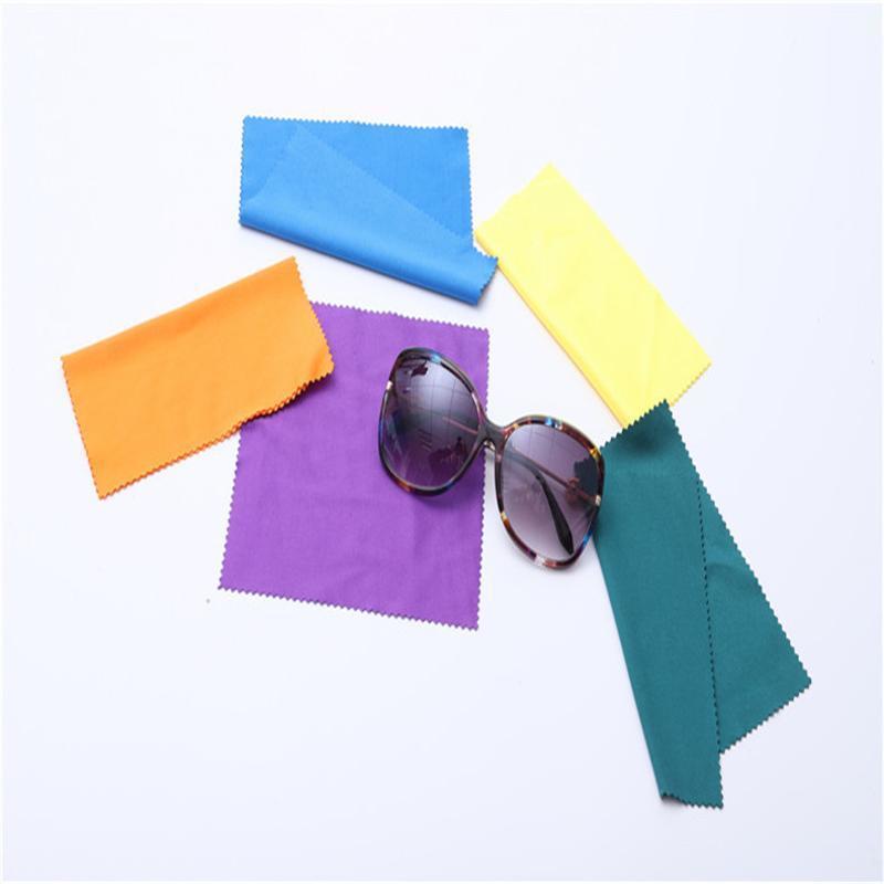 定做细纤维眼镜布定制眼镜防雾清洁眼镜布擦镜纸眼睛布手机清洁布