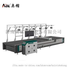 服装自动裁床布料自动切割机 振动刀切割机下料机