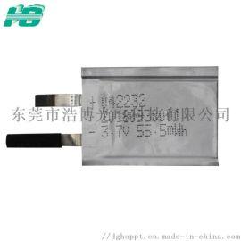 **聚合物锂电池0.4mm厚锂电池半固态