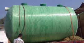 成品化粪池 玻璃钢农村化粪池 可定制整体沼气池