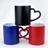 热转印变色杯定制LOGO图片陶瓷亚光马克杯厂家直销