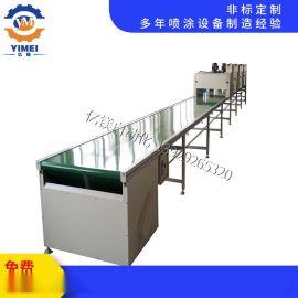 定制皮带式烘干线 硅胶定型隧道炉烘干线