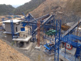开封投产时产100吨玄武岩大型石料生产线