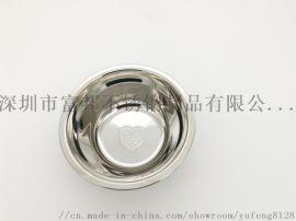 食品级304不锈钢汤盆不锈钢单层汤碗