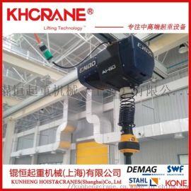铝合金轨道组合式智能提升机,电动助力平衡吊