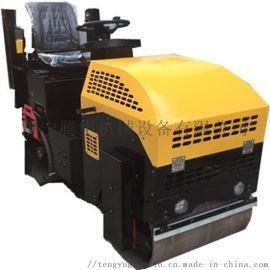 1吨座驾式双钢轮压路机济宁厂家价