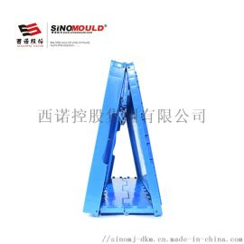 西諾摺疊週轉箱-常規藍色-60*40*23CM無孔-無蓋-