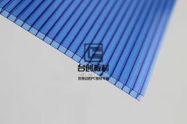 阿坝县若尔盖县米字型PC阳光多层板 磨砂pc耐力板