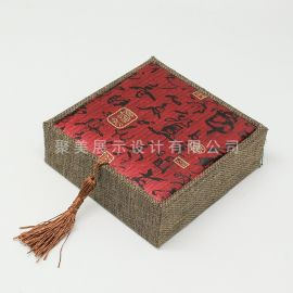 供应 佛珠手串包装盒 锦盒 复古 包装盒设计定制