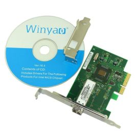 WY576-F1 PCIe X4服务器千兆光纤网卡