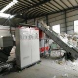PE薄膜撕碎清洗回收造粒机、大棚膜清洗回收造粒机