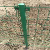 公路围栏网 铁网围栏多钱一米 浸塑钢丝护栏网