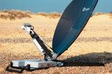 双向IP传输Ku频段卫星便携站,1.2M口径