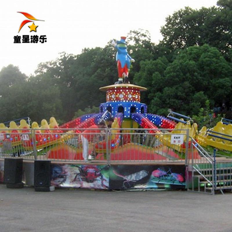 童星游乐设备 弹跳机新型大型游乐设备厂家在线咨询