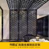 不鏽鋼屏風玫瑰金 玫瑰金鐳射鏤空屏風 隔斷雕花玄關