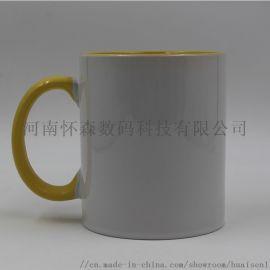 郑州内彩杯热转印空白内彩杯河南怀森陶瓷杯
