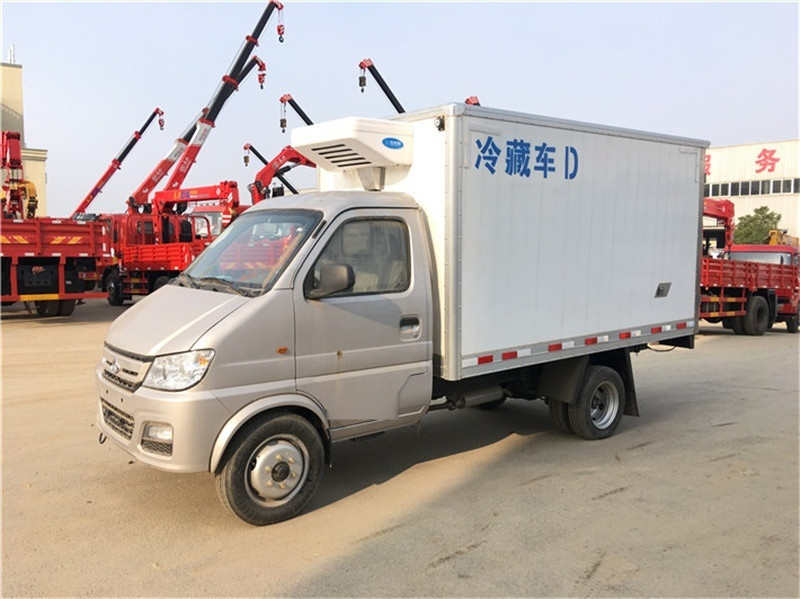 长安国五蓝牌冷藏车3米