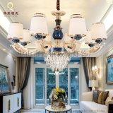 琪美燭光燈飾現代簡約鋅合金客廳吊燈