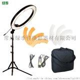 led18寸直播抖音補光燈主播攝影環形拍攝打光燈