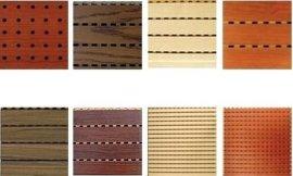 阻燃木质吸音板