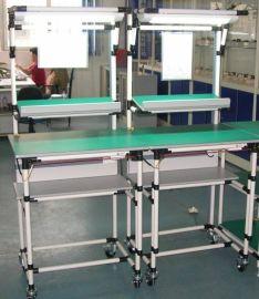 精益管线棒工作台组装包装焊锡使用