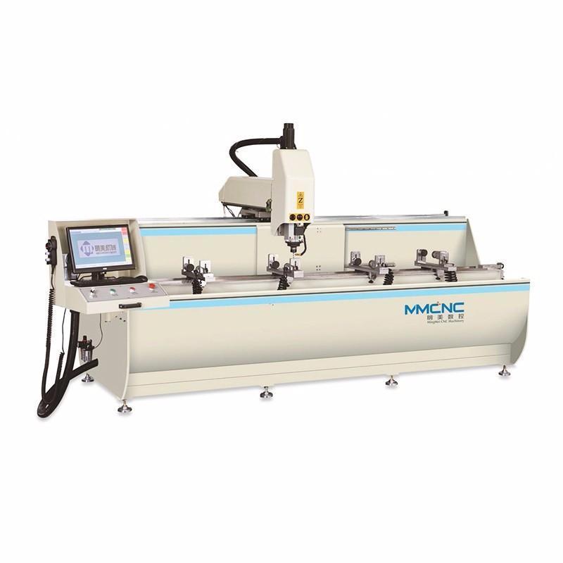 明美 铝型材加工中心 工业铝深加工设备 数控钻铣床