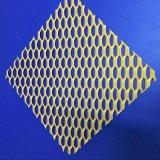 菱形铝板网 装饰网 金属板网