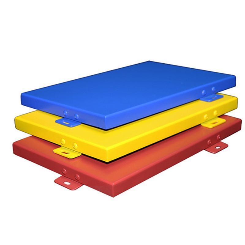 厂家供应铝单板冲孔铝单板木纹铝单墙铝板规格任意订购