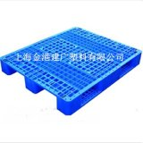 厂家直销 1210塑料托盘 1200*1000*15 0全新料栈板单面网格川子