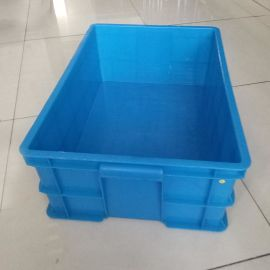 厂家直销批发塑料周转箱 HDPE物流运输箱 现货标准尺寸周转箱
