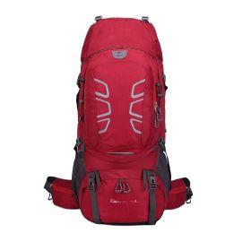 户外休闲登山包双肩包60L男女大容量背包旅行包运动旅游包徒步包