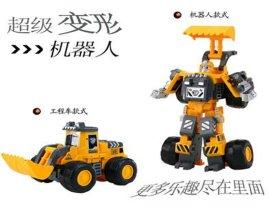 超级变形机器人模型