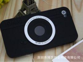 复古照相机硅胶手机套
