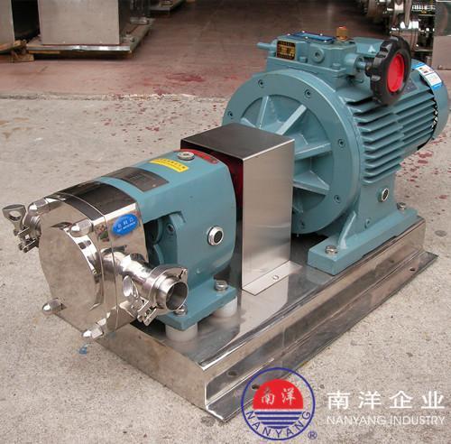 不锈钢转子泵 高粘度凸轮泵 罗茨泵
