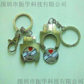 厂家订做卡通金属钥匙扣