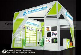 广州绿色环保展台设计搭建