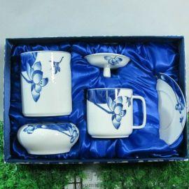 广州友星  会议礼品 中国诗词四件套 商务礼品红瓷办公文具三件套装 厂家直销