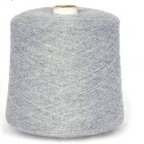 绒道羊绒,80%抗起球粗纺山羊绒纱线,2股26支,机织手编羊绒纱线