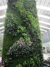 精品設計仿真植物牆 藝術仿真植物牆 綠色景觀植物牆