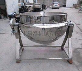 304不锈钢夹层锅可以蒸煮炒熬粥企业连锁店用夹层锅价格