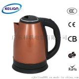 欧标认证科联KL1805B 1.8L厨房家用304全不锈钢电热水壶/电水壶
