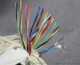 PUR聚氨酯高度拖链电缆 10芯x0.5平 高耐磨耐油耐折弯耐油电缆