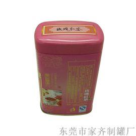 铁罐包装长方形铁茶叶罐东莞制罐厂家