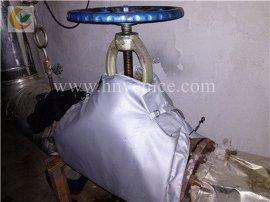 天津阀门保温套生产加工定做可拆卸保温衣