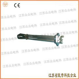 供应不锈钢丝扣法兰式电加热管