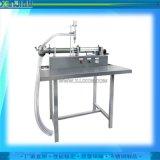 半自动小型灌装机 液体  定量分装设备 广州鑫基供应