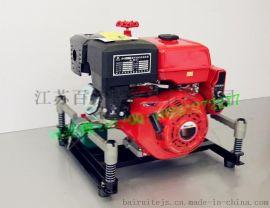 BJ-10G型 13马力手抬机动消防泵 汽油发动机手抬消防泵