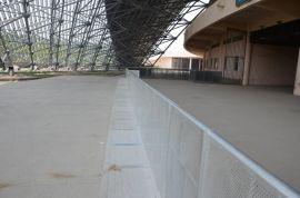 供应铝合金防暴栏 演唱会防爆栏 舞台灯架